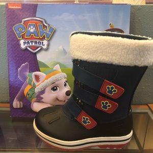 Paw Patrol Children's Snow Boots Size 12